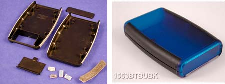 Injection molded plastic enclosures